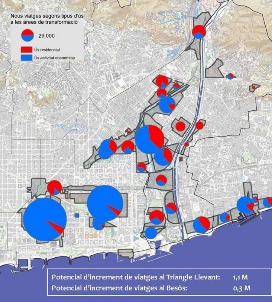 Barcelona Regional - Proposta i millora del sistema de mobilitat lligat a la transformació urbanística de l'àrea del Besòs