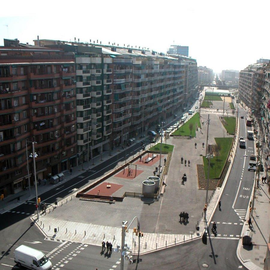 Barcelona Regional - Projecte de soterrament de la Ronda del Mig i remodelació de la Plaça Cerdà i el seu entorn
