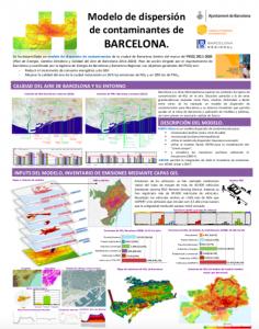 Barcelona Regional - Modelo de dispersión de contaminantes de Barcelona