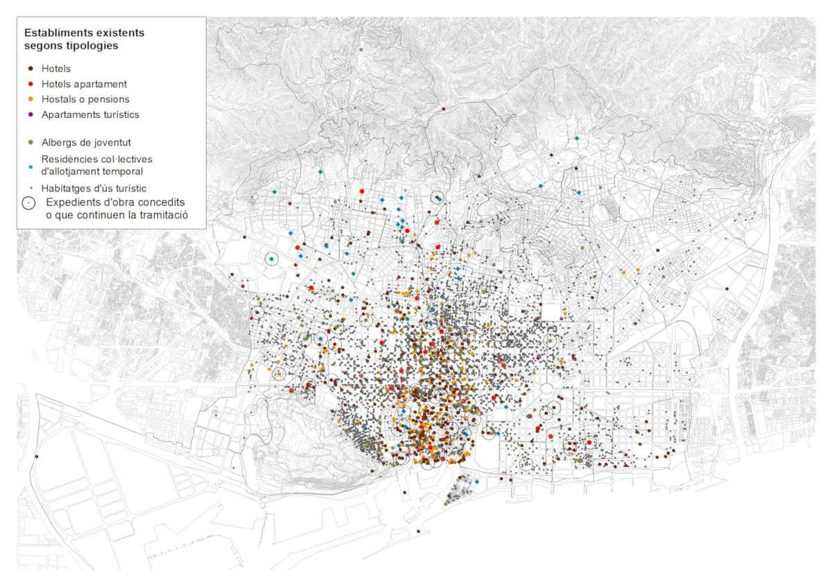 Barcelona Regional - Pla Especial Urbanístic d'Allotjaments Turístics