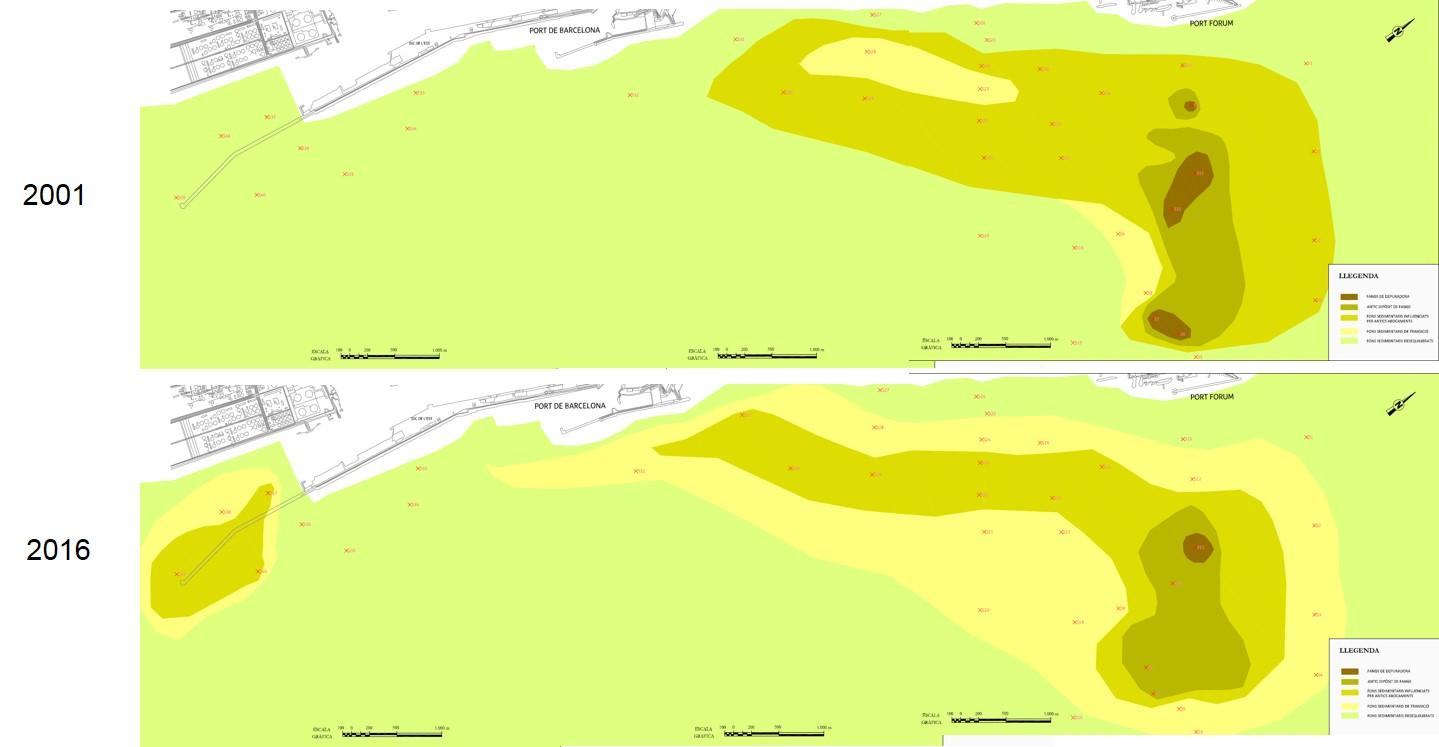 Barcelona Regional - Caracterització de fons marins i biogeocenosi de les platges de Barcelona