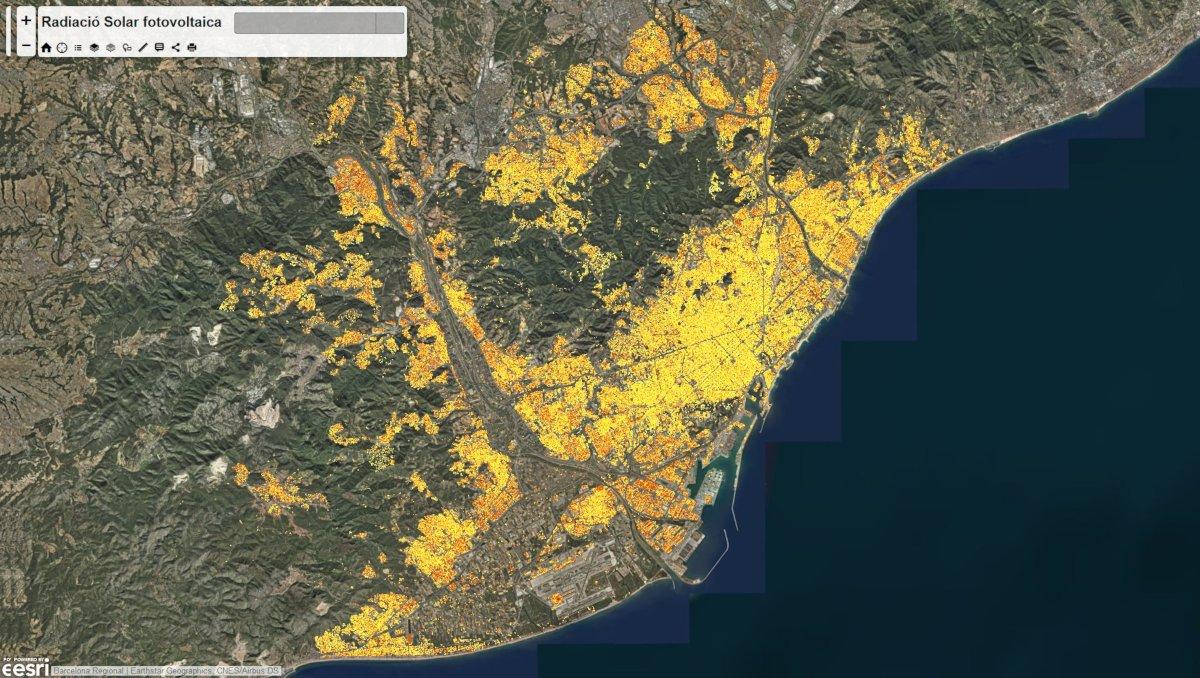 Barcelona Regional - Mapa solar del territori de l'AMB. Potencial d'energia tèrmica i fotovoltaica